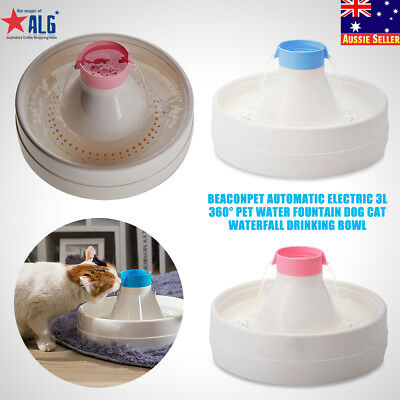 Automatic Electric Pet Water Fountain Dog/Cat Drinking Bowl Waterfall  Drinkwell 5