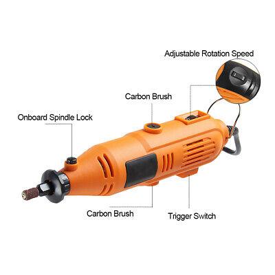 40pcs Drill Hobby Craft Mini Drill Grinder Multi tool Rotary Tool Set 135W HD06 4