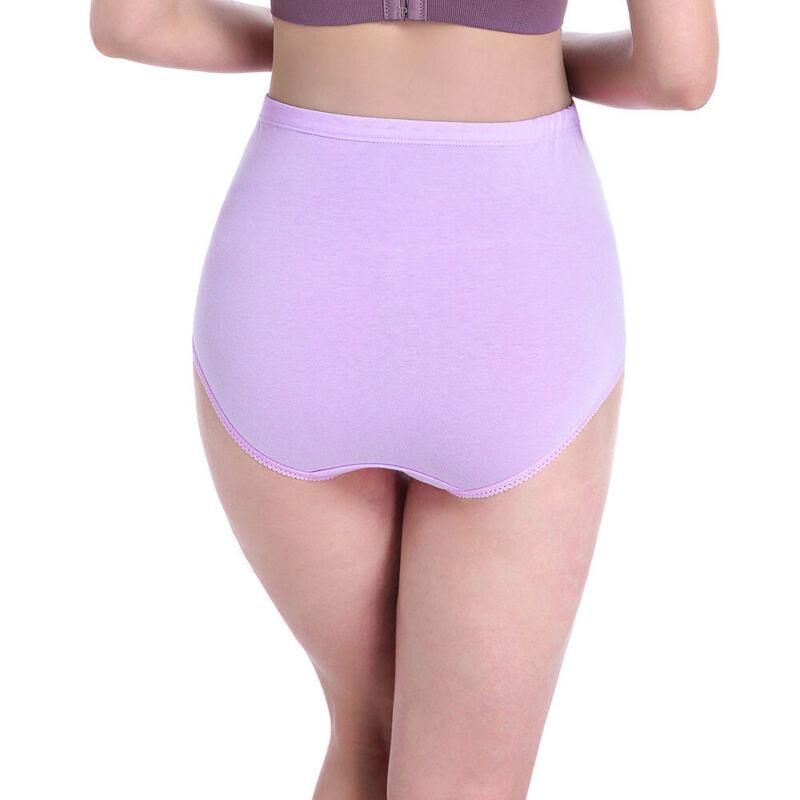 Women Pregnant Maternity High-waist Panties Seamless Soft Care Abdomen Underwear 3