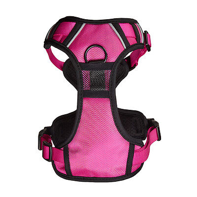 Bunty Soft Padded Comfortable Fabric Dog Puppy Pet Adjustable Outdoor Harness 8