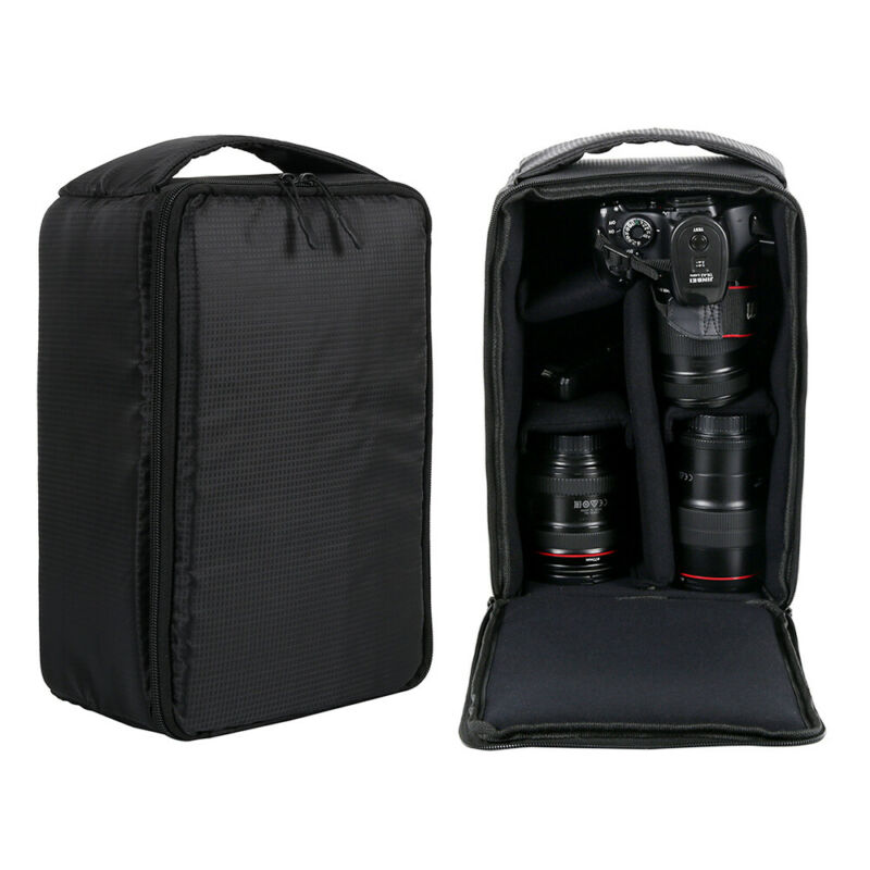 Camera DSLR Bag Backpack SLR Shoulder Soft Case Waterproof for Canon Nikon Sony 7