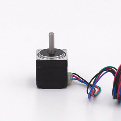 Mini Nema 8 20mm 2-Phase 4-Wire Precision Stepper Motor DIY Robot CNC 3D Printer 4
