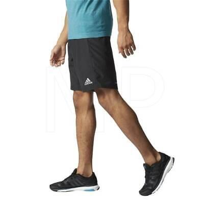 "Adidas Men/'s Running Shorts M Climalite 7/"" Black Dry-Fit AI3295 Size S,M,L,XL"