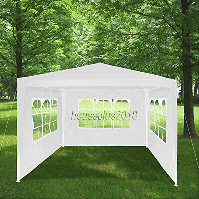 New 3X3m/4m/6m Waterproof Garden Gazebo Party Tent Marquee Awning Canopy Shelter 5