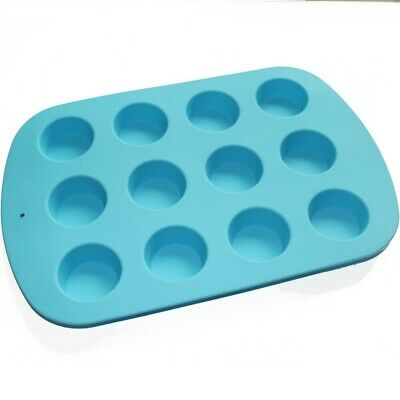 Round Circle Cylinder Silicone Soap Mold Chocolate Cookies Muffin Candy Mold 3