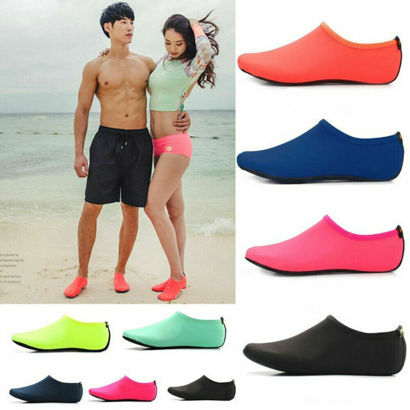 Men Womens Water Shoes Barefoot Aqua Socks Quick-Dry Beach Swim Sports Exercise 3