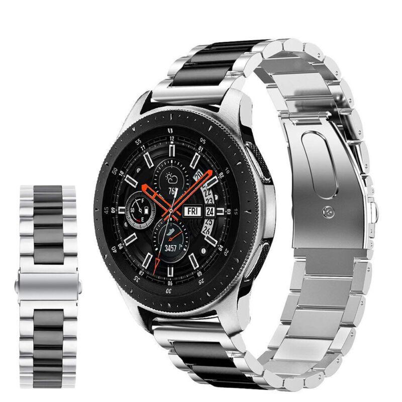 Samsung Galaxy Watch 46mm Correa reloj acero inoxidable + herramienta de enlace 2