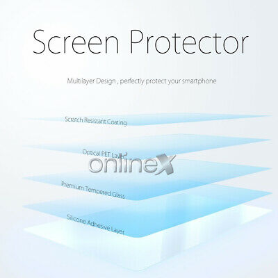 Cristal Templado 3D 5D IPHONE XS - IPHONE 11 PRO Protector CURVO Negro a4290 nt 6