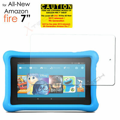 "2x Screen Protector Cover for Amazon Fire 7"" 9th / 7th Generation 2019 / 2017 2"