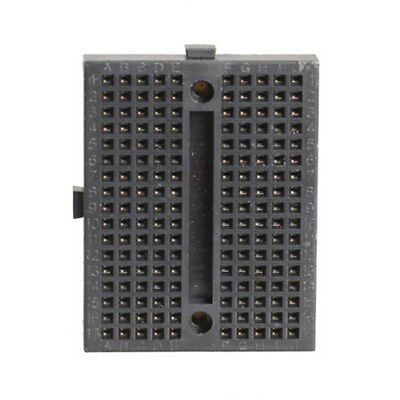 10pcs Mini Solderless Prototype Breadboard 170 Tie-points for Arduino Black Colo 4