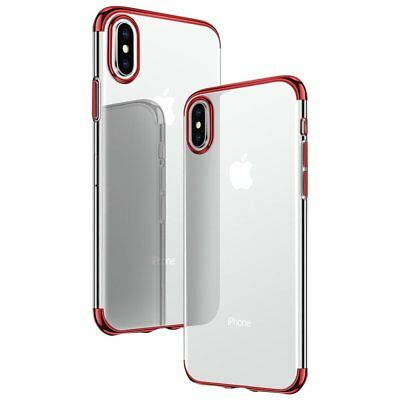 Ultra Slim Shockproof Silicone Clear Cover Case for iPhone XR XS MAX X 8 7 6s 6 8