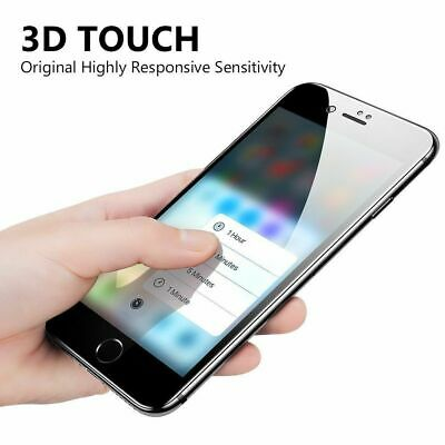 For iPhone X 7 8 Plus Xs Max XR Full Coverage Tempered Glass Screen Protector 7