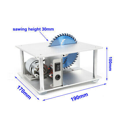 Mini Precision Bench Table Saw Woodworking DIY Craft Sawing Cutting Tool 5000RPM 2