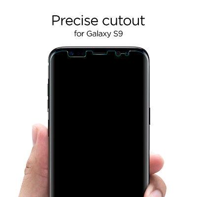 Galaxy S9 / S9 Plus Film Screen Protector [Neo Flex] Spigen® Film Shield [2PK] 4