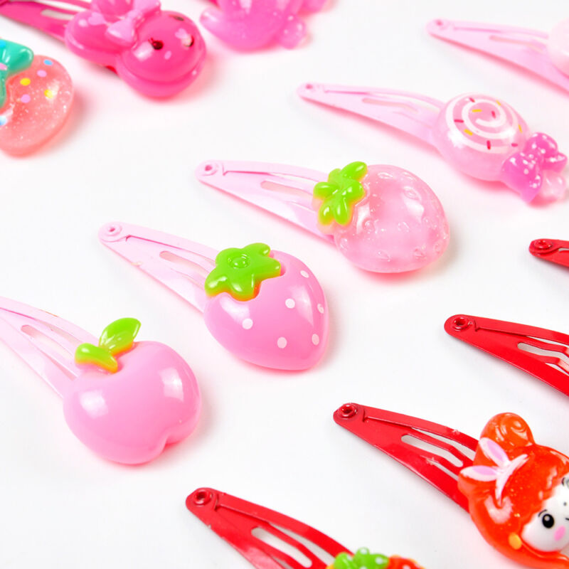 Wholesale 20pcs/Sets Mixed Cartoon Baby Kids Girls HairPin Hair Clips Jewelry- 7