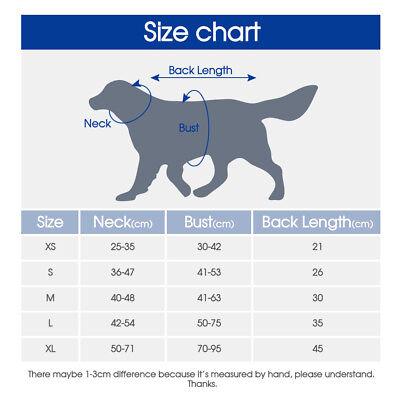 Dog Buoyancy Aid Pet Swimming & Boating Life Jacket Safety Vest Flotation