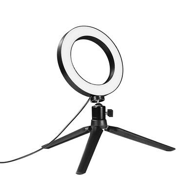 Ring Light LED Studio Photo Video Dimmable Lamp With Tripod Stand Selfie Stick 9