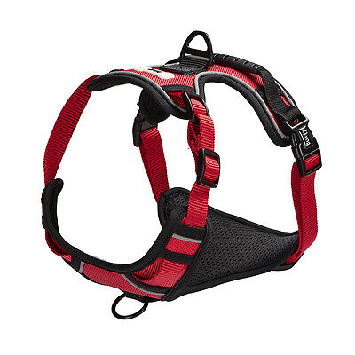 Bunty Soft Padded Comfortable Fabric Dog Puppy Pet Adjustable Outdoor Harness 11