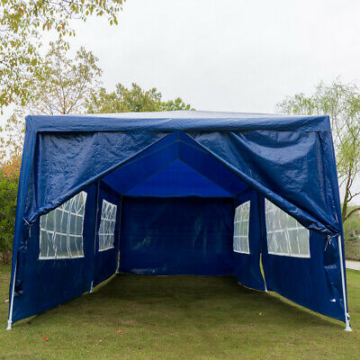 New 3X3m/4m/6m Waterproof Garden Gazebo Party Tent Marquee Awning Canopy Shelter 4