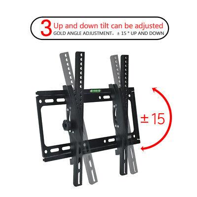 "Universal Tilt TV Wall Mount Bracket SONY SAMSUNG LG Panasonic 26""-55""LED LCD 3D 7"