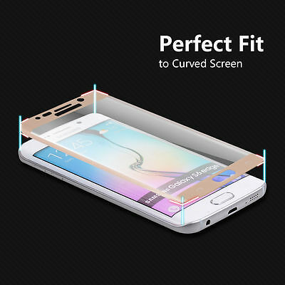 Full Cover Tempered Glass Screen Protector For Samsung Galaxy S7 Edge S8 S9 Plus 7