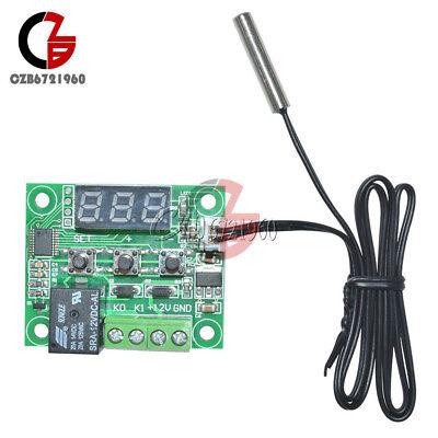 -50-110°C Red W1209 Digital thermostat Temperature Control Switch 12V + Sensor 10
