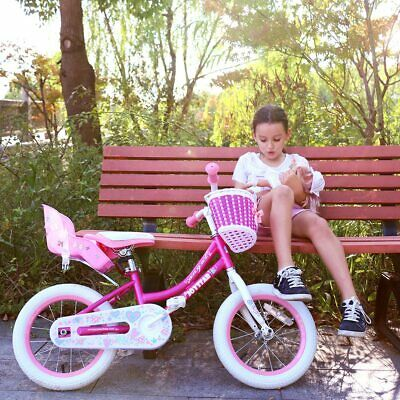 Bike Doll Carrier Seat Kids Girls Seats Post Dolls Holder Stickers Bicycle Kit 5