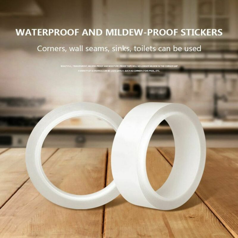 Magic Double-sided Tape Traceless Washable Adhesive Tape Nano Invisible Gel Tape 4