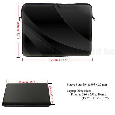 "15/"" 15.6/"" Laptop Notebook Computer Sleeve Case Bag w Hidden Handle 3027"