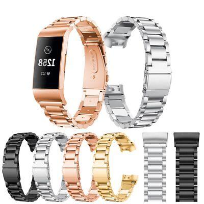 Fitbit Charge 2 3 Armband Edelstahl Ersatzband Nylon Milanese Sport Leder Watch 7
