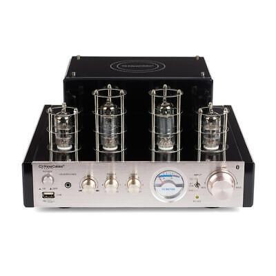 PrimeCables® 25W Stereo Hybrid Tube Hi-Fi Speaker Amplifier Bluetooth/USB/RCA 2
