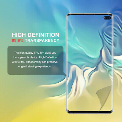Galaxy S10 S10+ S9 S8 Plus ZUSLAB Full Cover Screen Protector for Samsung X 3 3