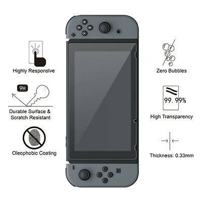 Nintendo Switch Screen Protector 9H Slim Tempered Glass 2
