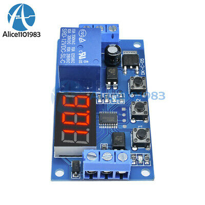 5PCS 12V LED Home Automation Delay Timer Control Switch Relay Module Digital M87