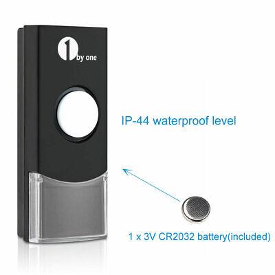 Wireless Doorbell AC Receiver Battery Remote Home Office Digital Door Bell Kit 9