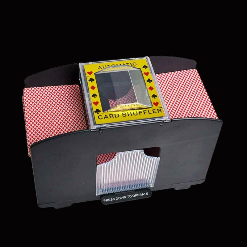 Automatic Card Shuffler Deck Casino Playing Cards Sorter Poker Games Machine 8