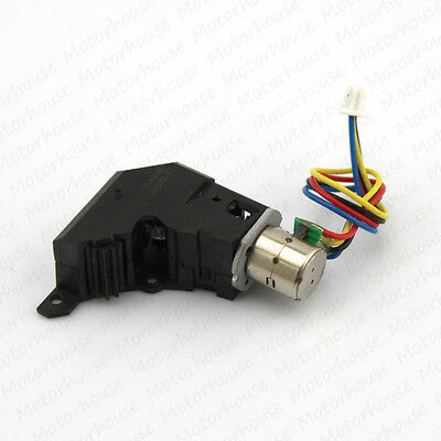 Worm Gear Stepper Motor 3V~5V 2 phase 4 wire micro-reducer gearbox 3 Motor Hole 3