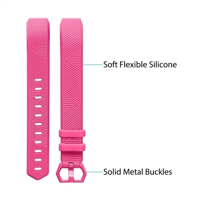 Silicone Replacement Wristband Watch Band Strap For Fitbit Alta/ Fitbit Alta HR 7
