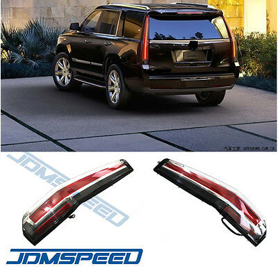 For 2017 2016 Chevrolet Tahoe Suburban Tail Lights Led Brake Cadillac Style 4