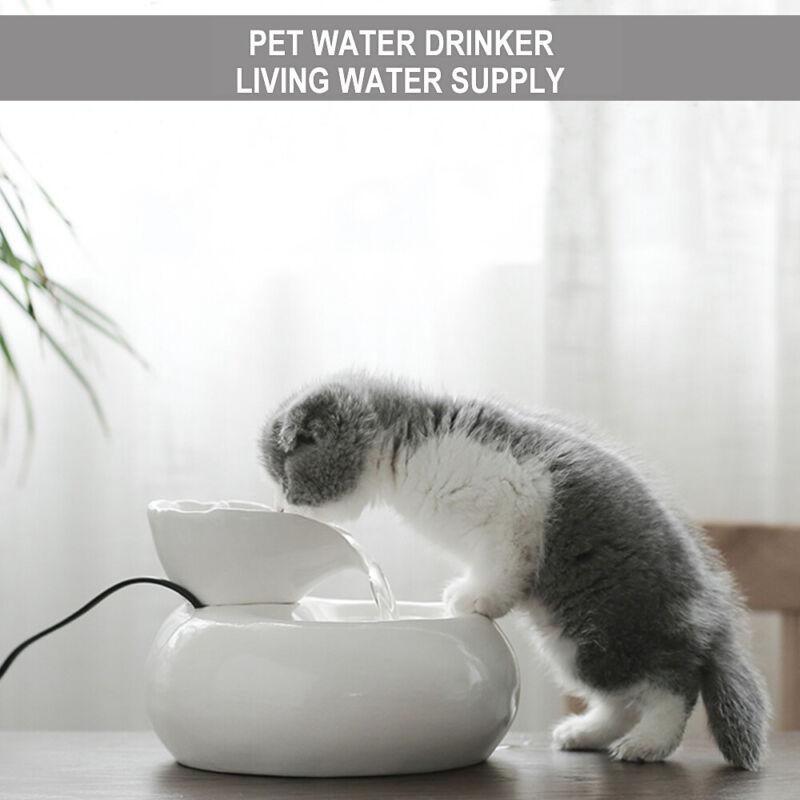 Pet Drinking Fountain Automatic Circulating Water Dispenser Pet Cat Dog Drinker 6
