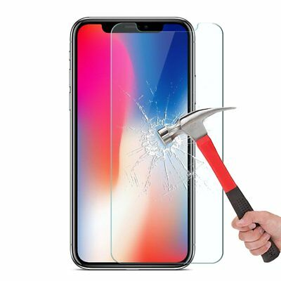 Apple iPhone X XS Max XR 8 7 6 6S Plus SE 5S 5 Tempered Glass Screen Protector 5