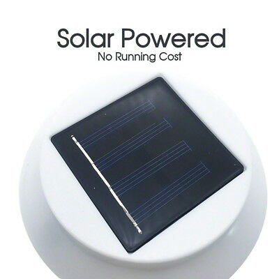 1/2/4/10/12/20x Solar Power 3LED Fence Light Outdoor Garden Wall Pathway Lamp