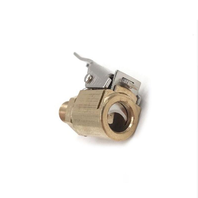 1pc Auto Car Air Compressor Inflator Valve Quick Clip Connector Brass Adapter 8