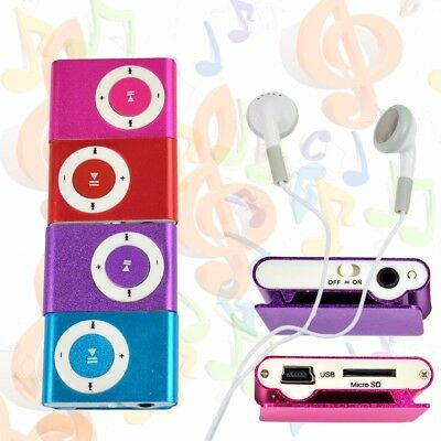 2018 Brand New Metal USB 2.0 Mini Clip On Portable MP3 Music player