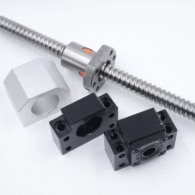 Rolled Ballscrew SFU1204 1605 1610 2005 2010 2505 2510 3205 3210&Ballnut CNC Kit 7