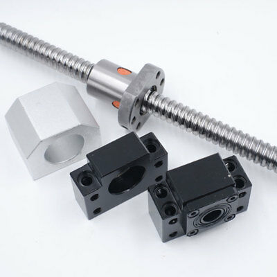 Rolled Ballscrew SFU1204/1605/2005/2505/3205&Ballnut&End Support CNC Machine Kit 7