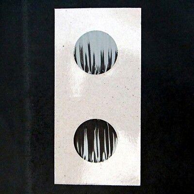 (5000) Quarter Size 2x2 Mylar Cardboard Coin Flips for Storage   25 Cent Bulk 3