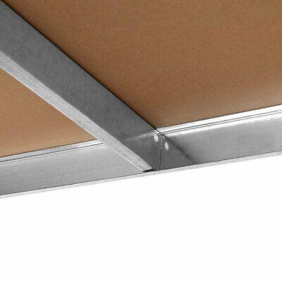 Estanteria Metalica Galvanizada 875kg 5 Baldas 180 x 90 x 40cm Ideal Garaje 5