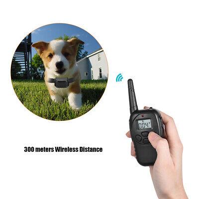 Collier de dressage electrique chock pour chien PORTEE 300M étanche Rechargeable 6