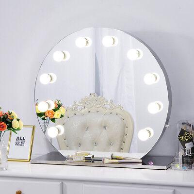 Hollywood-Stil Rahmenlos Kosmetikspiegel mit Beleuchtung Bühne Schönheit Spiegel